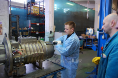 Repair of the equipment of manufacturing