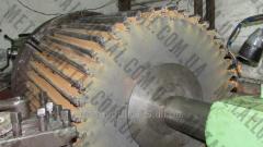 Восстановление валов оборудования
