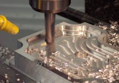 Токарно-фрезерные работы по металлу на станке с ЧПУ (3D моделирование, написание программ для станков с ЧПУ)