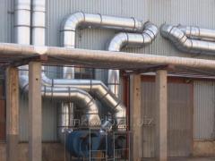 Design, installation of ventilating systems