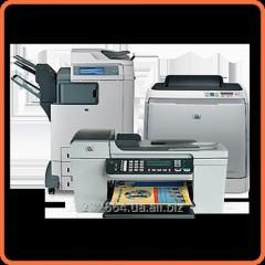 Repair of office equipment – repair of printers,