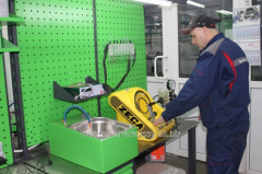 Diagnostics and repair of mechanical nozzles