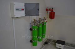 Installation of autonomous heating syatems for