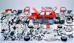 Selection of spare parts