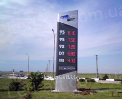 Services in outdoor advertizing using LEDs - LED