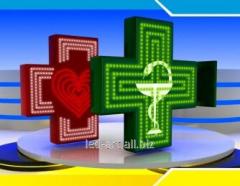 LED pharmaceutical crosses
