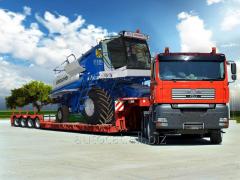 농장 기계 운송
