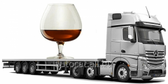 Transportations of wine