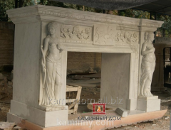 Production and Installation of marble fireplaces