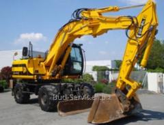 Rent of excavators loaders JCB 4CX, JCB 3CX