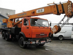 Rent of the KT 25 truck crane ATHLETE; T KS 3575