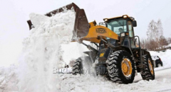 Snow-removing works