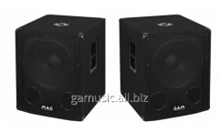 Rent, hire of sound Two subwoofers of MAG TS 15B