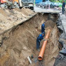 Sanitation of pipelines by a pipe broach method,