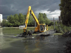 Cleaning of reservoirs of vegetation, Odessa