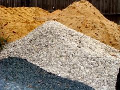 Услуги доставки сыпучих (песок, щебень, граншлак, отсев)