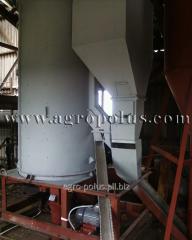 Installation of the grain processing equipmen
