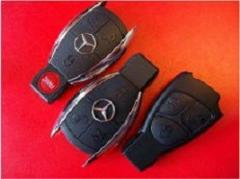 Replacement of cases of keys of Mercedes