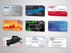 Производство визиток