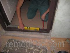 Installation of input doors