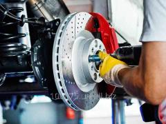 Diagnostics of brake system