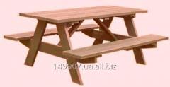 Изготовление дачных столиков