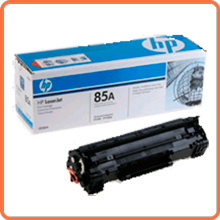 Gas station of cartridges of the HP laser printers
