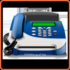 Repair of fax machines (faxes)