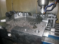 Service production of compression molds