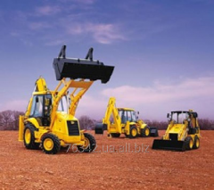 Rent of a construction equipment.