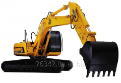 Rent of excavators of models, popular on