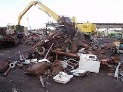 We accept scrap metal in unlimited number
