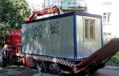 Transportation of change houses