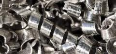 Take shavings of metal