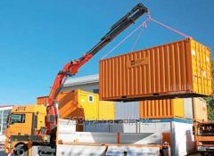 Transportation of machines and equipmen