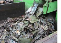 Recycling of the metallurgical enterprises