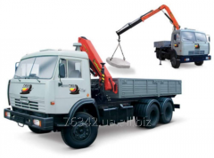 Cargo transportation with the crane