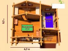 Строительство,  проектирование бань,  саун