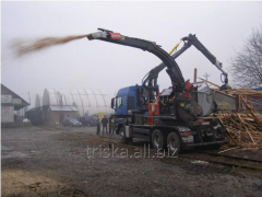 Production of spill wood