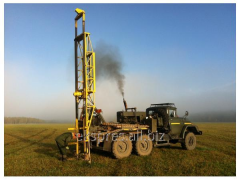 Drilling in the field