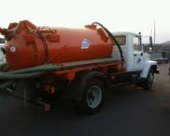 Pumping of silt from car wash