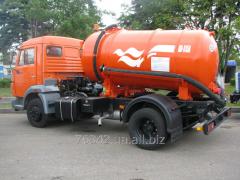 Pumping of fecal cesspools