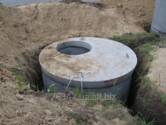 Device of concrete septic tank