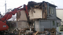 Destruction of the old house