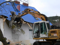 Demolition of old structures