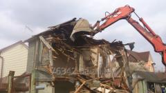 Dismantle of the garden house