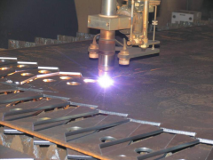 Plasma cutting of any complexity