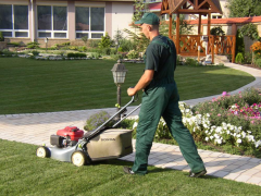 Services of gardeners
