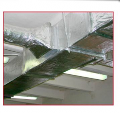 Fire protection of air ducts and communications
