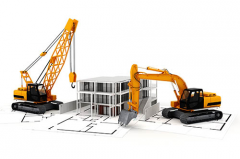 Construction of trade and office centers